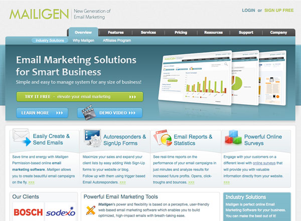 mailigen Email Marketing service provider