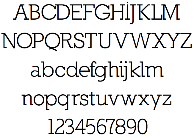 Nilland Slab Serif fonts