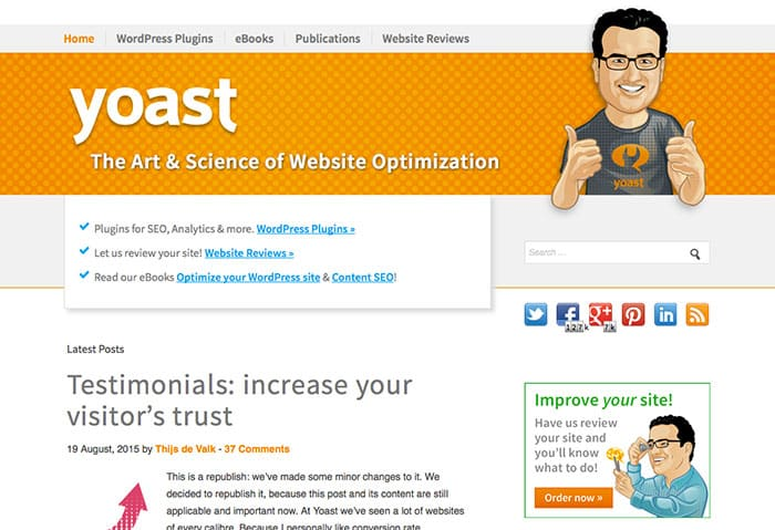yoast - Essential WordPress Plugins