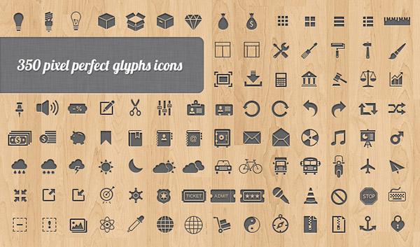 25 fabulous free photoshop icon sets creative beacon 350 vector web free photoshop icon sets reheart Choice Image