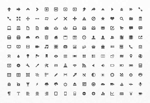 25 fabulous free photoshop icon sets creative beacon mini vector free photoshop icon sets reheart Choice Image
