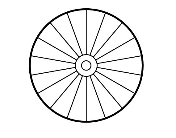 Wheel - Gradient Strokes