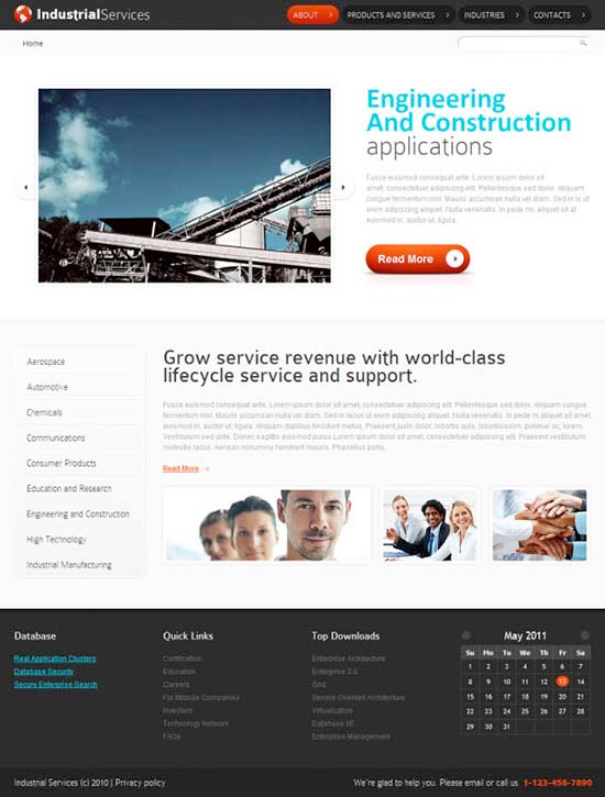 HTML5 Website Template