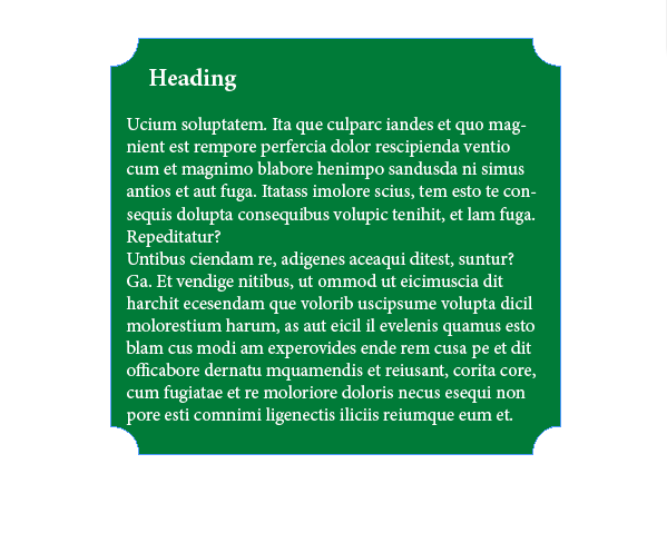 InDesign Inverse Rounded Corners