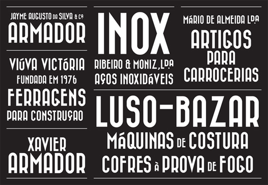 Bazar Free Retro Fonts