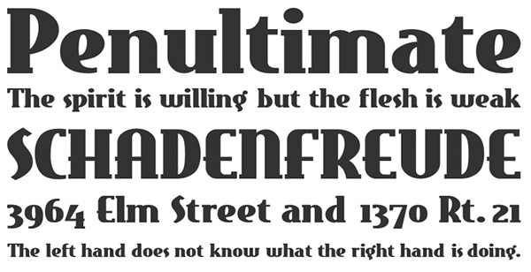 Eastmarket Free Retro Fonts