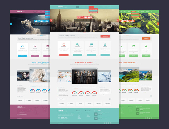 Psd to html templates 09