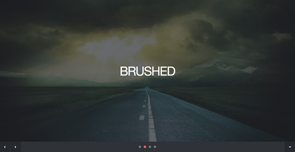 Brushed Free Html5 Responsive Template