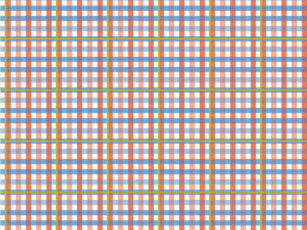 Mixed Plaid vector pattern swatches