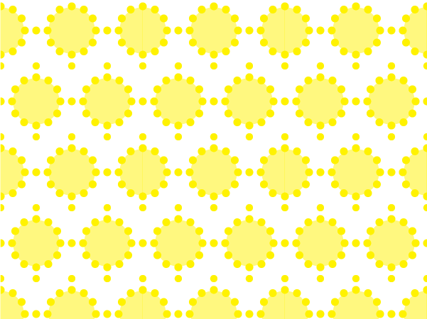 Sunny fun vector pattern swatches