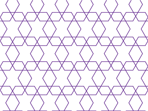 Purple Geometry vector pattern swatches
