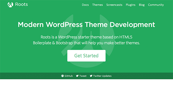Roots Html5 WordPress Starter Theme
