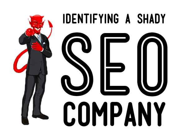 Identifying a shady seo company