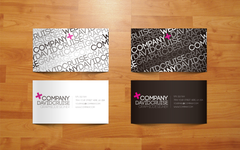 3 free vector business card templates creative beacon free vector business card templates reheart Images