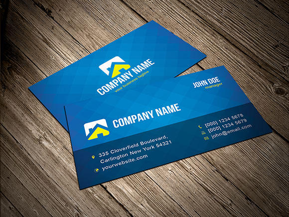 3 Free Vector Business Card Templates