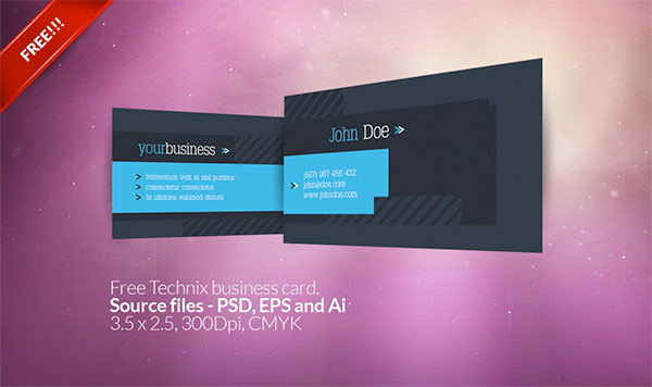 free vector business card templates 3