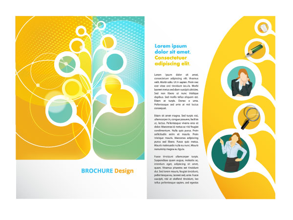 Free Vector Brochure Templates Creative Beacon