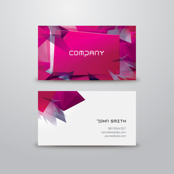 5 excellent free vector business card templates creative beacon abstractmodernvector businesscardtemplates 5 excellent free vector business card templates reheart Images