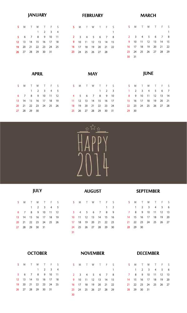 Calendar Templates Creative : Free vector calendar templates creative beacon