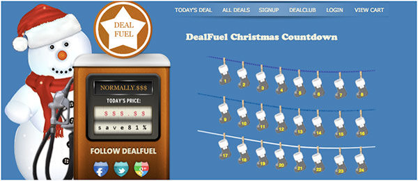 DealFuel is your Santa this Christmas!