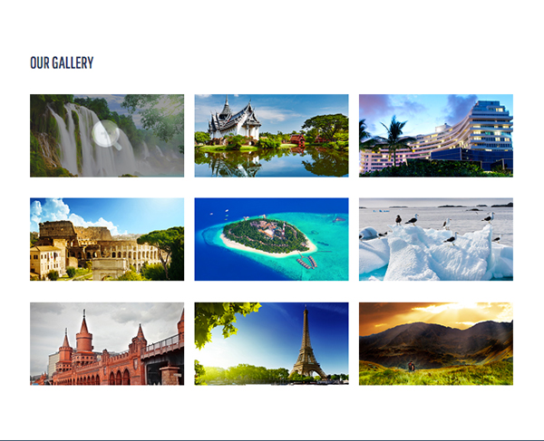 Journey Responsive Html5 Template gallery