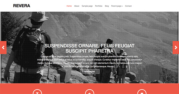 Revera new free WordPress Themes