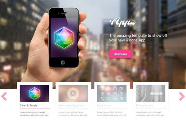 Appz New Free WordPress Themes 2014
