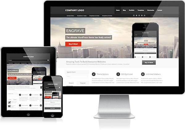wordpress templates 2014 responsive