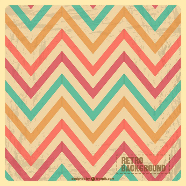 Vector Abstract Backgrounds zig zag