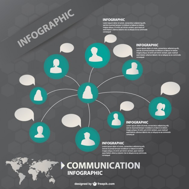 infographic templates Communication