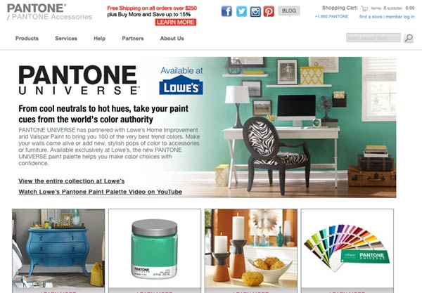 Convert Pantone to Paint Lowes