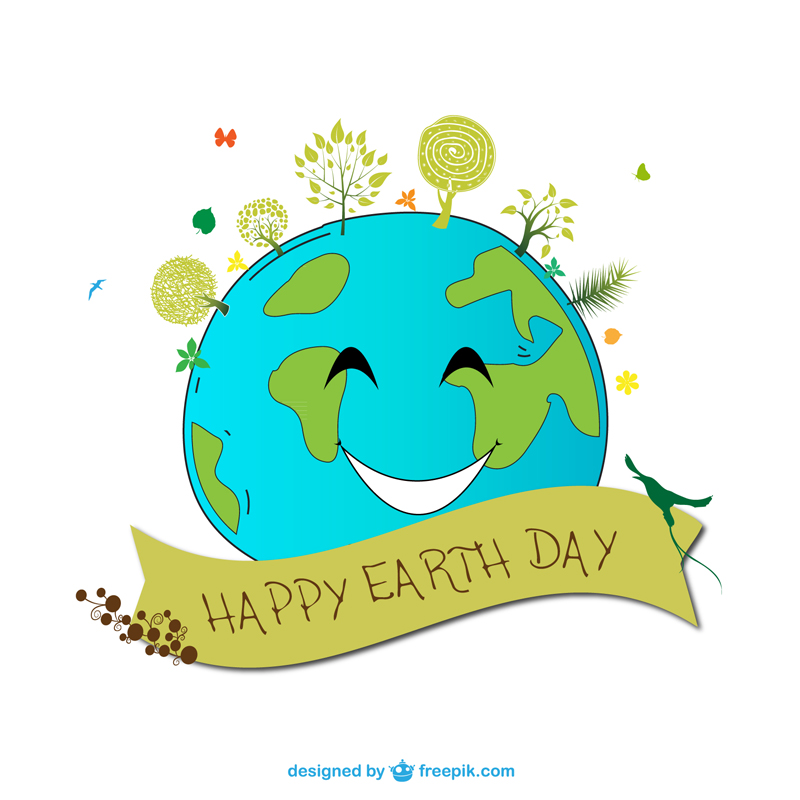 Free Earth Day Vector Designs Smile