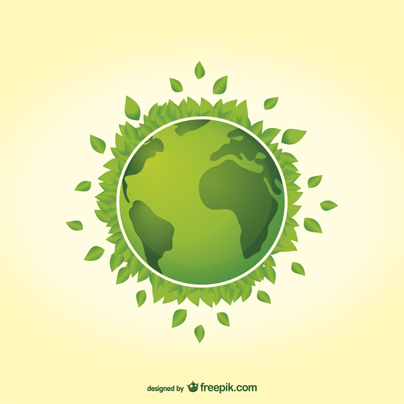 Free Earth Day Vector Designs leaves