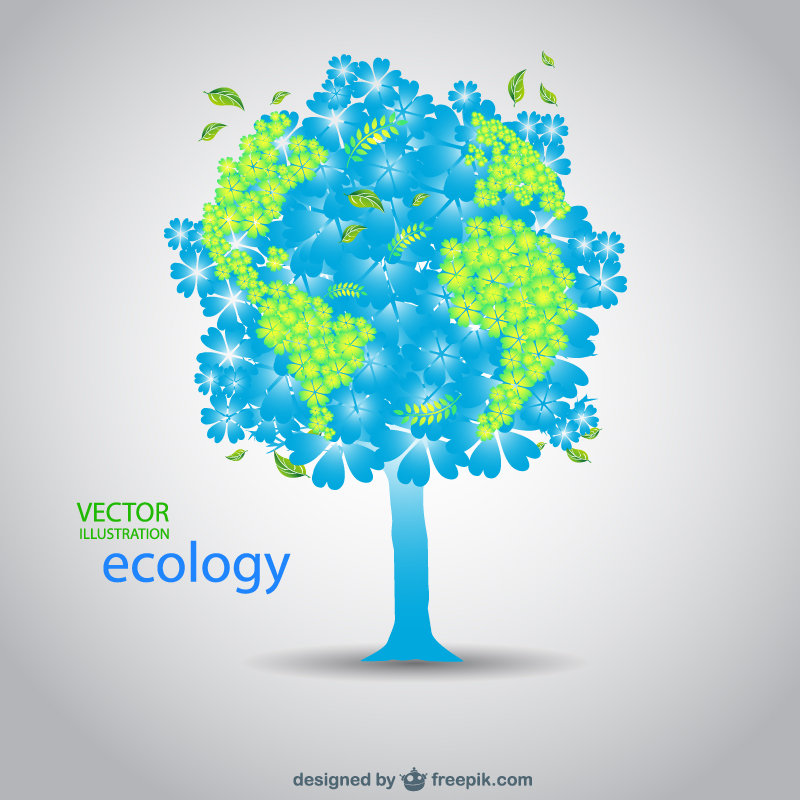 Free Earth Day Vector Designs Earth Tree