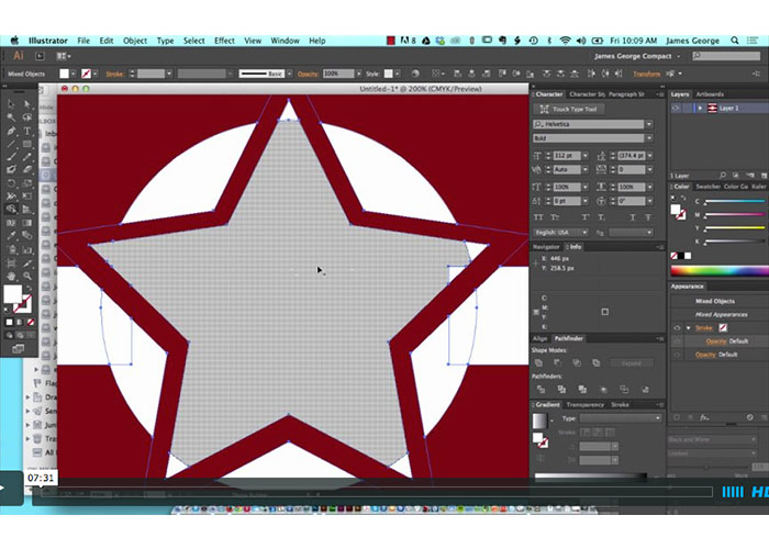 Using the Shape Builder Tool In Adobe Illustrator
