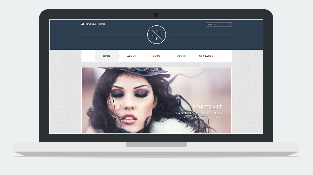 Fashion Photography Cherry Framework Responsive WordPress Theme