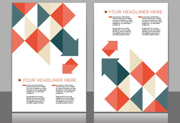 brochure design free vector