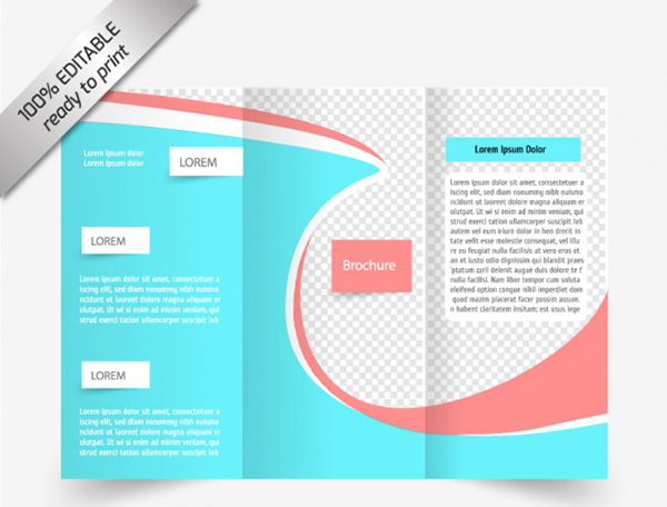12 free brochure templates creative beacon for Blank tri fold brochure template free download