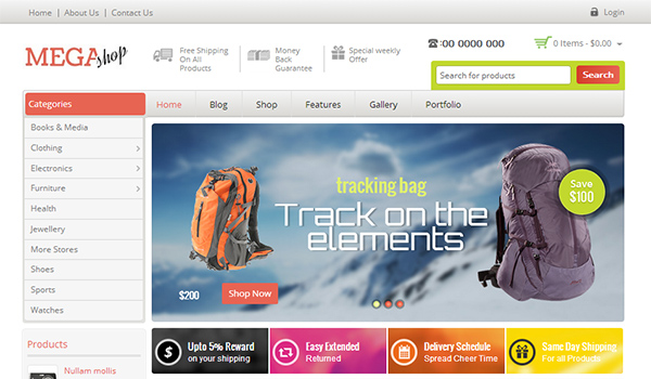 60 WordPress Ecommerce Themes