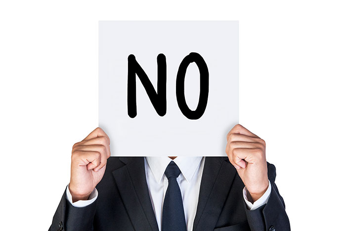 When to say no to clients