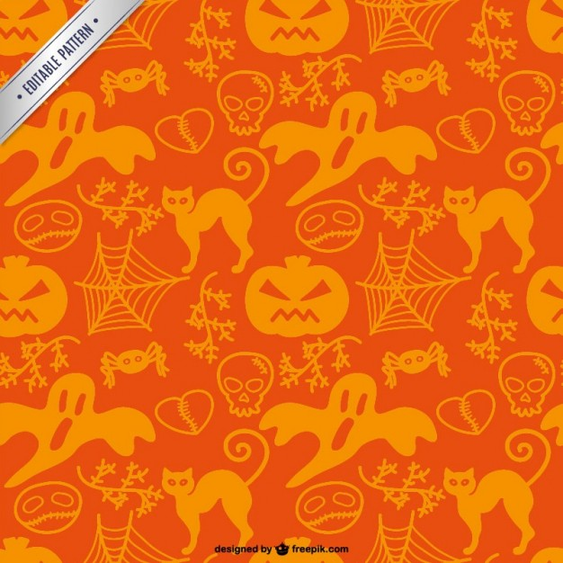 Awesome Vector Halloween Patterns | Creative Beacon