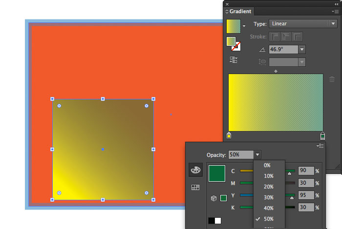 Gradient Opacity Tips in Illustrator