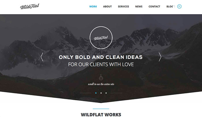 Wildflat Html5 Template