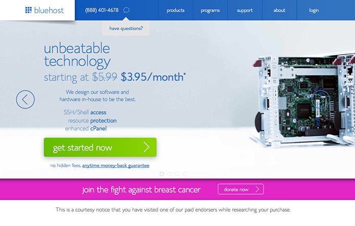 Bluehost: The Best web hosting provider
