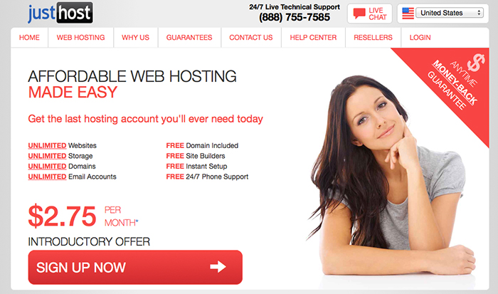 Just Host: Web Hosting Provider