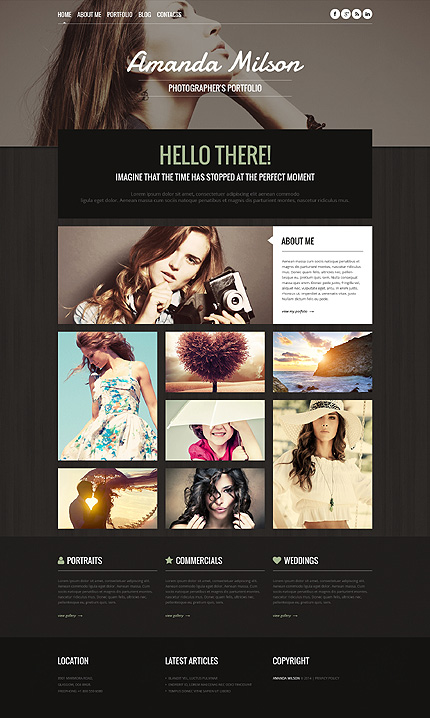 Photography WordPress Themes
