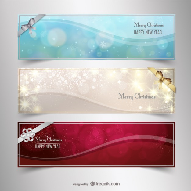 Free Christmas Banners For Holiday Promotions