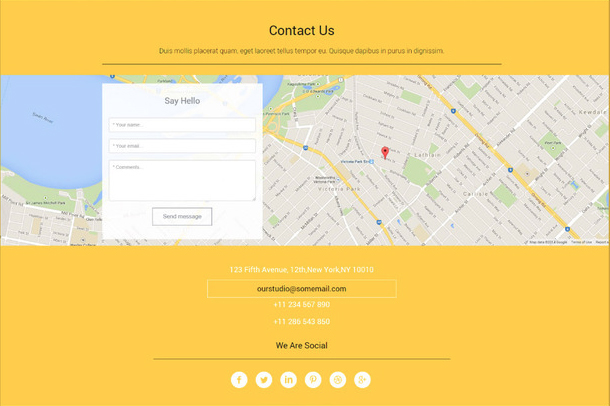 Pluton Free Website Template Creative Beacon