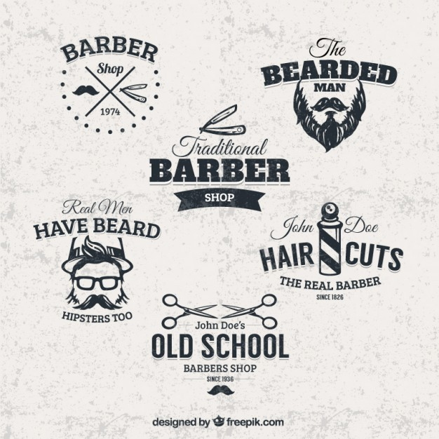 barber-shop-badges