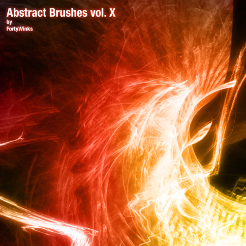 abstract fibrous brush pack